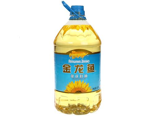 5升金龙鱼葵花籽油配送