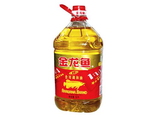 5升金龙鱼调和油配送